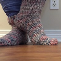Cozy Cottage Socks - A Free Crochet Pattern