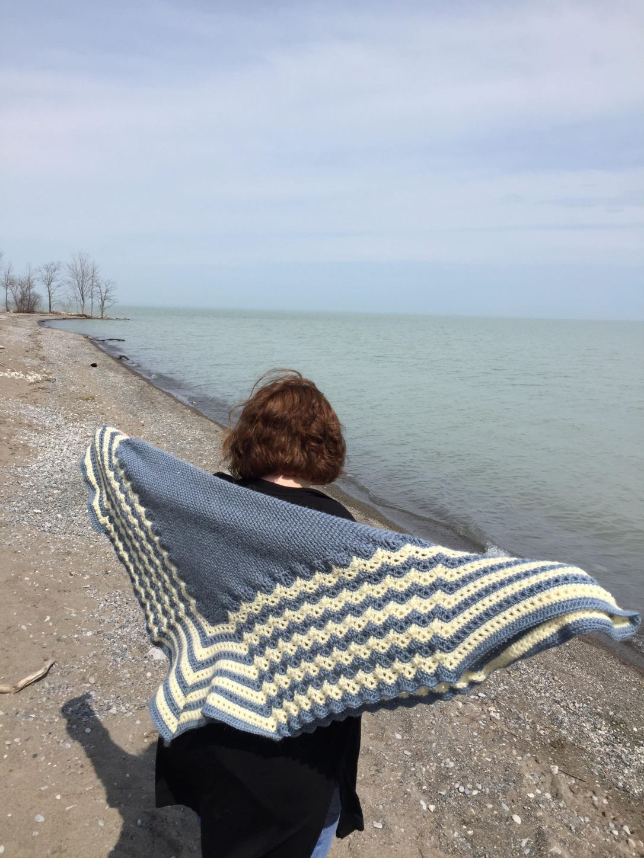 Crochet Scottish Hap - A Free Crochet Pattern | Rich