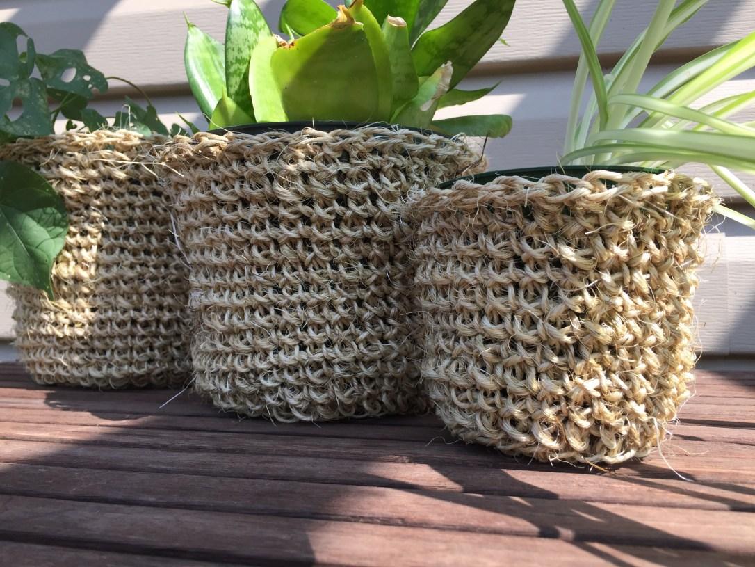 plant pot cozy