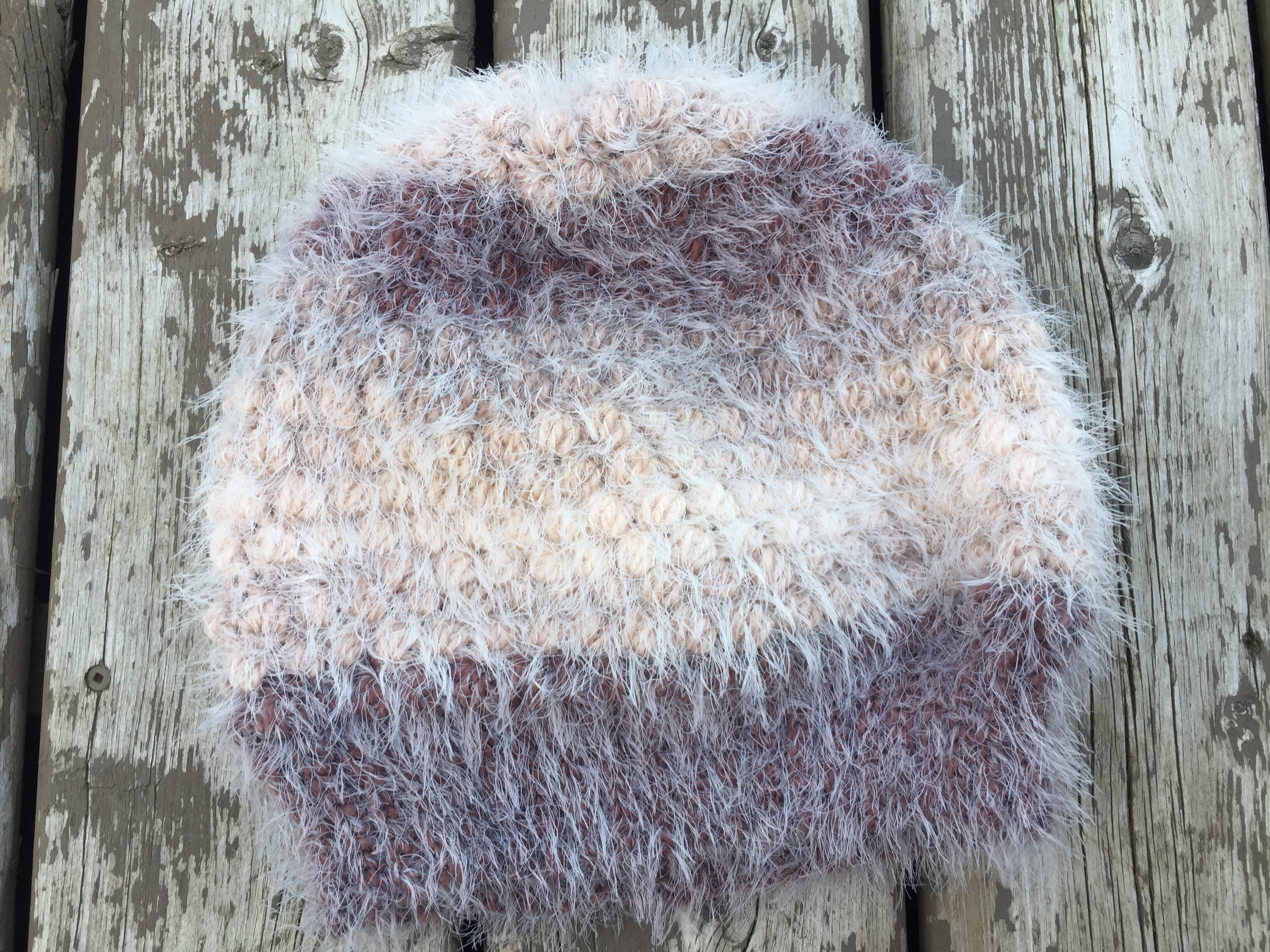 453df39b2bb Puff Stitch Slouch Hat - Free Crochet Pattern