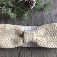 Winter Bliss Ear Warmer Free Crochet Pattern
