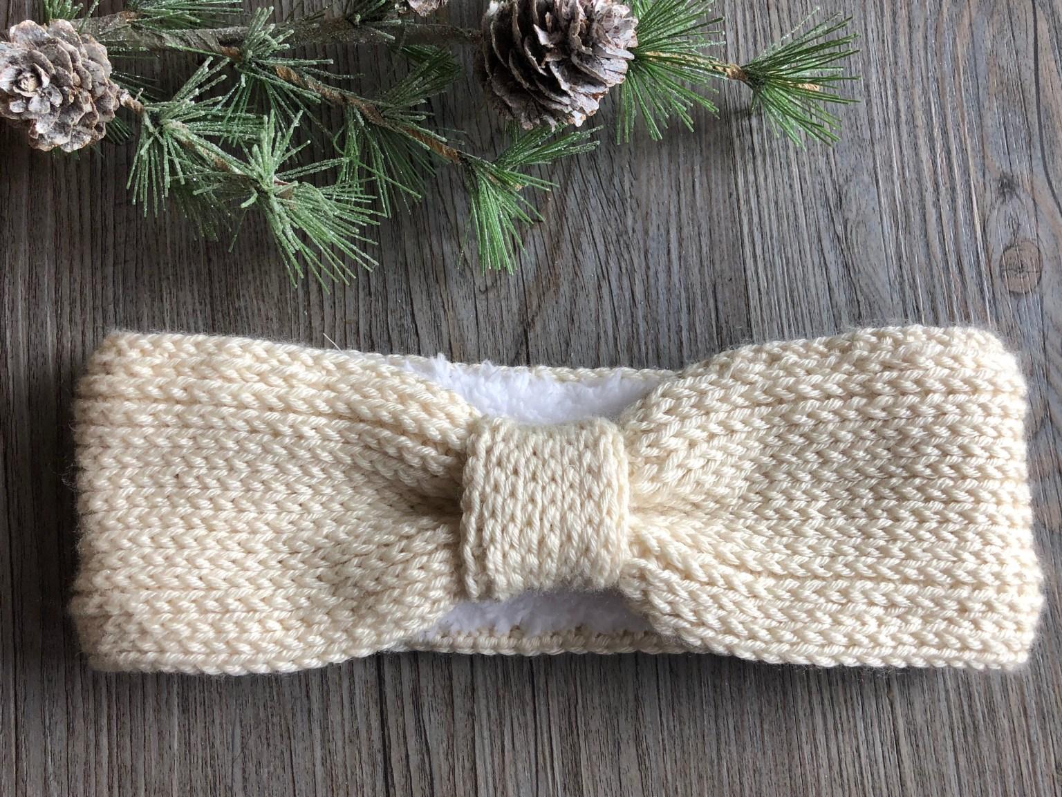 Winter Bliss Ear Warmer by Sarah @ Rich Textures Crochet