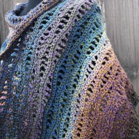 Rivers Shawl Free Crochet Pattern