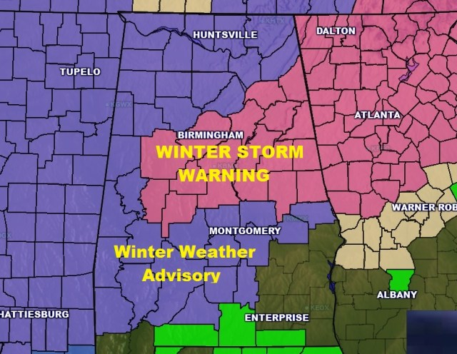 WINTER STORM UPDATE: More Counties Added - Special Friday Video