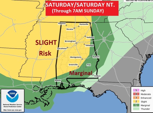 Another Weekend Severe Weather Threat – THURSDAY Video