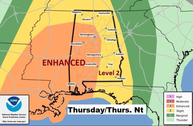 Severe Weather Threat Thursday Evening/Night – WEDNESDAY Video