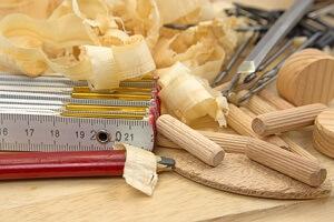 Holzdübel richtig bohren