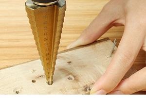 Stufenbohrer für Holz