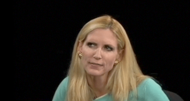 Coulter Lookin' Ironically Confused