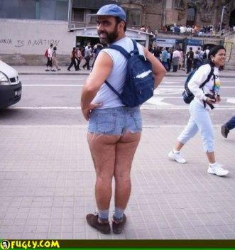 unforgettable tight shorts