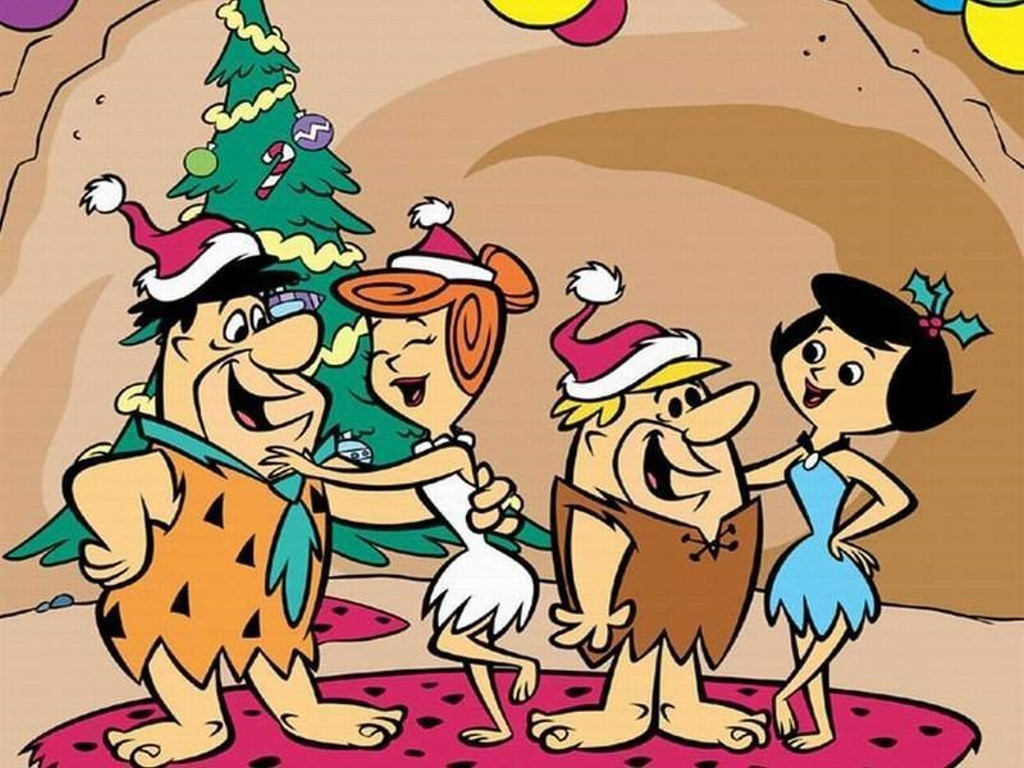 a gay old time with the flintstones