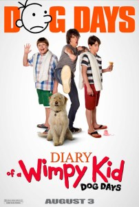 diary of a wimpy kid dog days movie