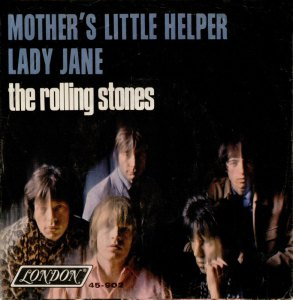 cover for mother's little helper; single by the rolling stones