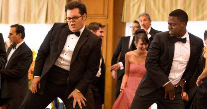 josh gad and kevin hart doing the dougie in the wedding ringer--embedded questions