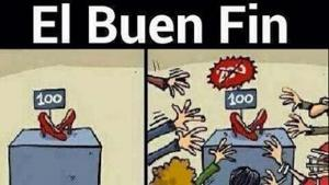 buen fin cartoon