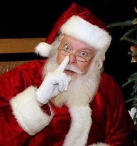 u better watch out santa