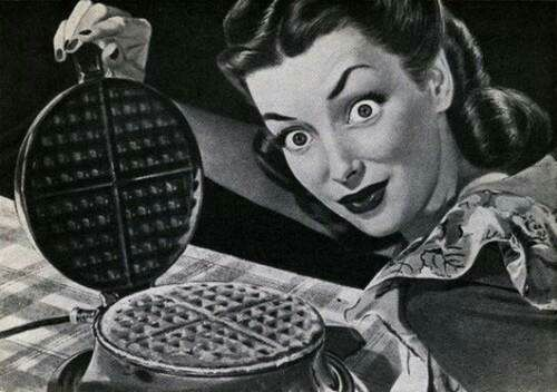 waffles and possibly cocaine