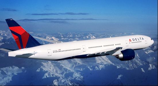 a delta airlines plane