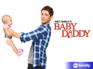 "poster for the series ""baby daddy"""