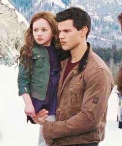jacob imprints on renesme in the twilight saga