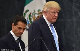 peña nieto recognizing trump is getting the best of him