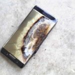 the samsung galaxy note 7 went up in flames