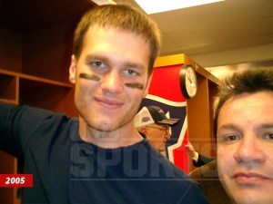 mauricio ortega's selfie with tom brady