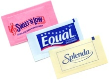 sweet n low, equal and splenda are artificial sweeteners