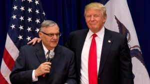 trump & arpaio looking like buddies