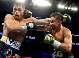canelo and ggg exchange punches