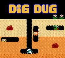 the video game dig dug
