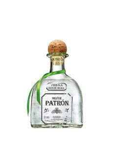 a bottle of patron tequila