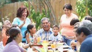 a family get together--vocabulario en inglés