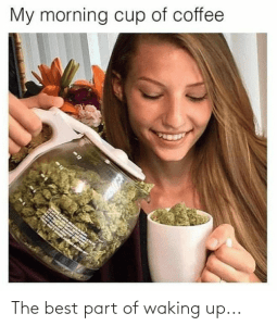 lady-pouring-a-cup-of-weed-from-a-coffee-pot-caption-reads-the-best-part-of-waking-up