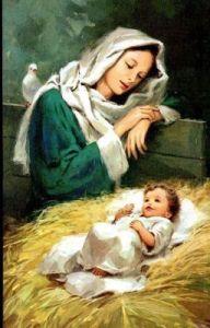 lil baby jesus and his mother mary vocabulario en inglés