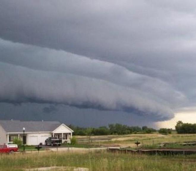derecho clouds (national weather service)