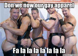 gay apparel