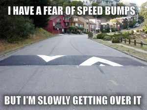 get over it--speed bumps