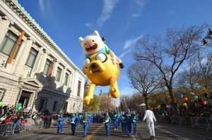 finn jake nyc thanksgiving parade