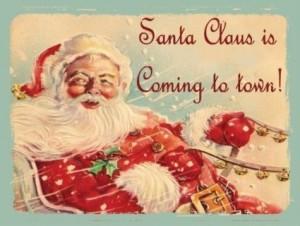 jolly santa reindeer