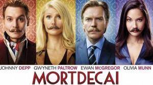 mortdecai poster worth