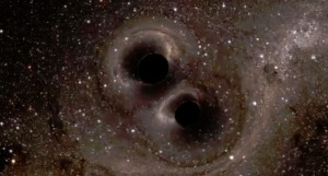black holes collide