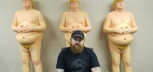 naked trump statues creator ginger