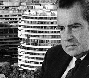 president richard nixon and the watergate hotel