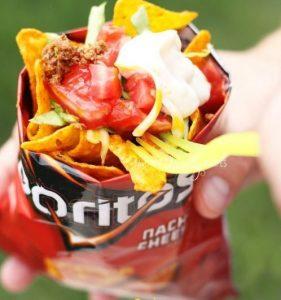 a taco in a bag
