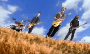 soundgarden playing in the black hole sun video