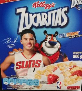 devin booker and tony the tiger