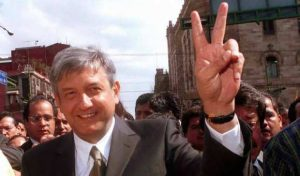 andrés manuel lopez obrador when he was mayor of mexico city