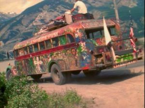 further, the bus the merry pranksters drove from california to new york city and back