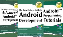 e-books de desarrollo sobre Android